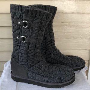 Ugg- gray knit